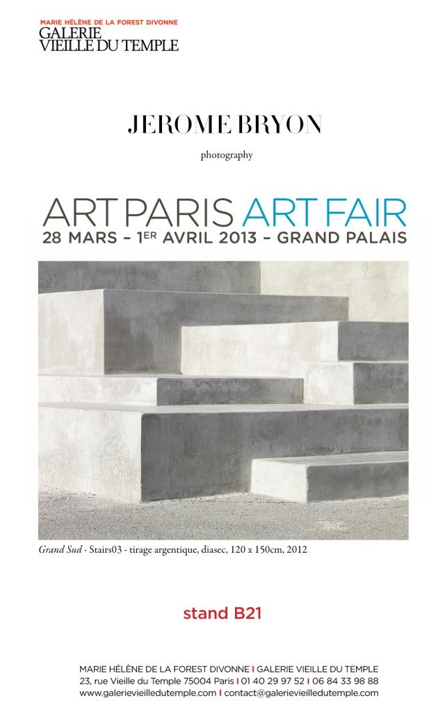 newsleter ARTPARIS 2013